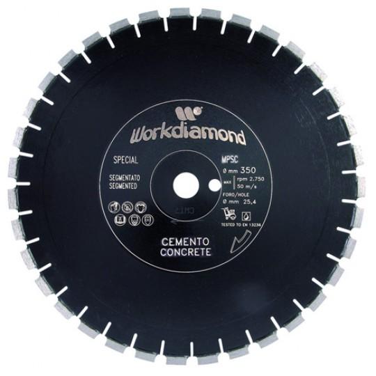 Алмазный диск Workdiamond MPSС 450 мм 8 мм