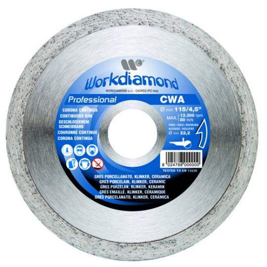 Алмазный диск Workdiamond CWA 125 мм