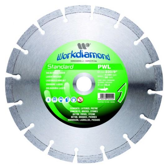 Алмазный диск Workdiamond PWL 230 мм