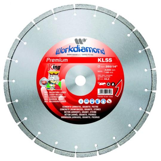 Алмазный диск Workdiamond KLSS 400R