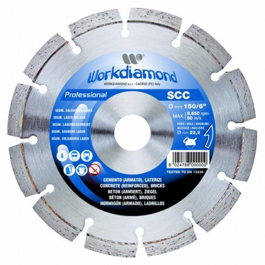 Алмазный диск Workdiamond SCС 230 мм
