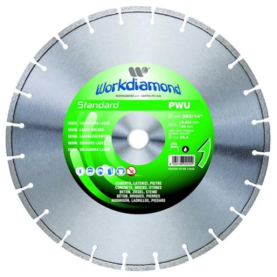 Алмазный диск Workdiamond PWU Standart 350R