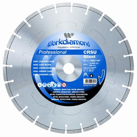 Алмазный диск Workdiamond CRSU Silent Professional 650R