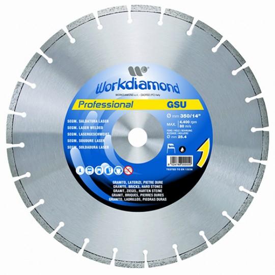 Алмазный диск Workdiamond GSU Professional 600R